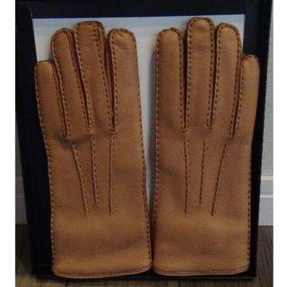 バーニーズニューヨーク(BARNEYS NEW YORK)の新品 バーニーズニューヨーク 手袋 キャメル色(手袋)