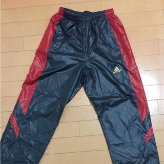 アディダス(adidas)のアディダス ナイロンパンツ 黒赤  160(パンツ/スパッツ)
