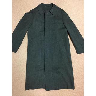 サンヨウヤマチョウ(SANYO YAMACHO)の紳士用 カシミヤ ウールコート フォーマル スーツ用  ビジネスコート(チェスターコート)