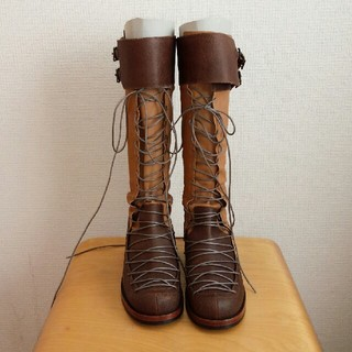 ミナペルホネン(mina perhonen)のpoe ブーツ mina perhonen carnet study hutte(ブーツ)