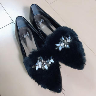 レディー(Rady)のRady✩ファーシューズ(ローファー/革靴)