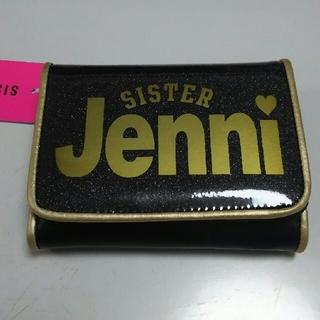 ジェニィ(JENNI)の新品JENNIジェニィ☆二つ折り財布☆黒(財布)