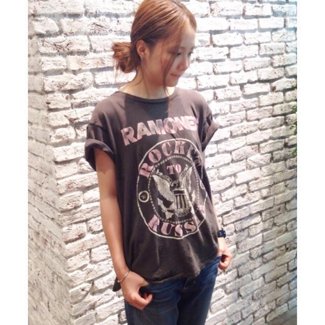 Drawer(ドゥロワー)のMade worn メイドウォーン Tシャツ サイズS レディースのトップス(Tシャツ(半袖/袖なし))の商品写真