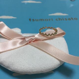 ツモリチサト(TSUMORI CHISATO)の新品《ツモリチサト》♡ゴールドリング♡(リング(指輪))