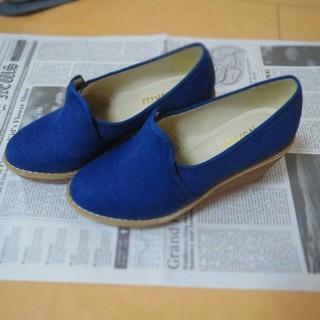 ミスティック(mystic)のコルクローファー(ローファー/革靴)