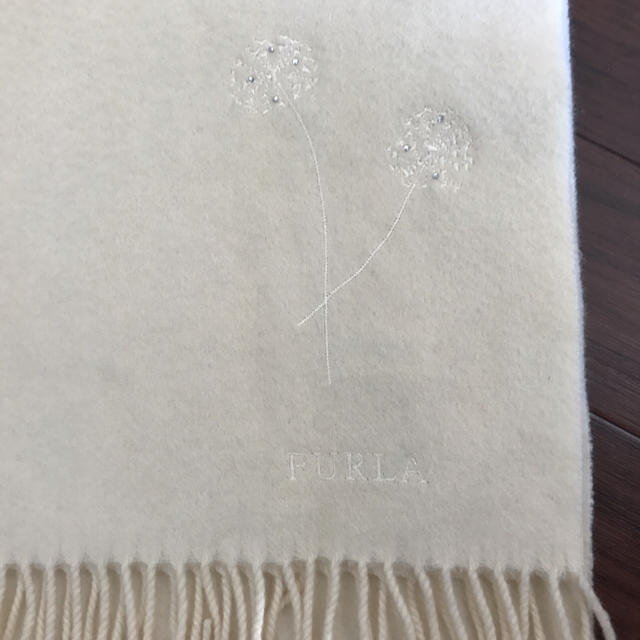 Furla(フルラ)の上質◇フルラ FURLA マフラー オフホワイト レディースのファッション小物(マフラー/ショール)の商品写真
