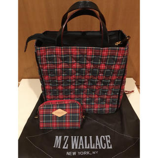 エムジーウォレス(MZ WALLACE)のMZウォレス キルティングトート 限定品 未使用(ハンドバッグ)