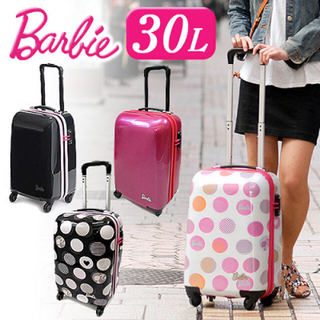 バービー(Barbie)のBarbie バービー キャリーバッグ スーツケース(スーツケース/キャリーバッグ)