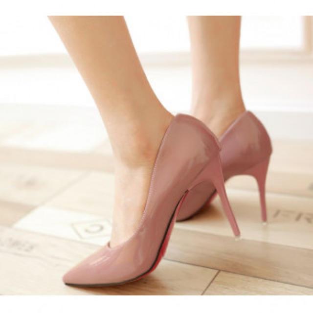【新作】ハイヒール パンプス ピンク レディースの靴/シューズ(ハイヒール/パンプス)の商品写真