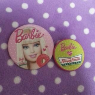 バービー(Barbie)のBarbie 缶バッチ(ブローチ/コサージュ)
