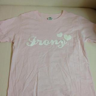 アイロニー(IRONY)のironyロゴTシャツ(Tシャツ(半袖/袖なし))