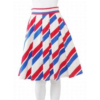 ダズリン(dazzlin)の#00989/ダズリンAIRMAILプリーツスカート(ひざ丈スカート)