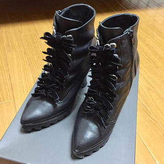 ジーヴィジーヴィ(G.V.G.V.)のG.V.G.V. CAT FOOT LACE UP BOOTS  ブーツ(ブーツ)