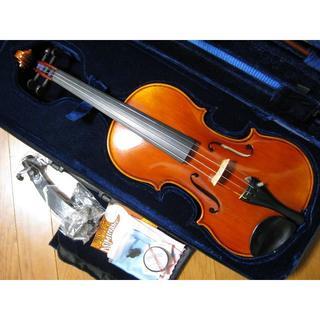 スズキ(スズキ)のメンテ調整済 スズキバイオリン No.520 4/4 美品 フルセット(ヴァイオリン)
