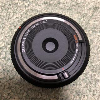 オリンパス(OLYMPUS)のOLYMPUS ボディキャップレンズ ミラーレス一眼用 BCL-1580(レンズ(単焦点))