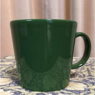 イッタラ(iittala)の⭐️ 少々難有  イッタラ  ティーマ   廃盤色  フォレストグリーン (グラス/カップ)