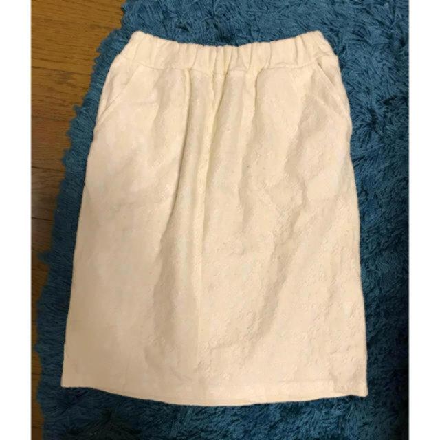 Lily Brown(リリーブラウン)の送料込♡♡ ホワイト レース スカート M セレクトショップ購入 ♡♡ レディースのスカート(ひざ丈スカート)の商品写真