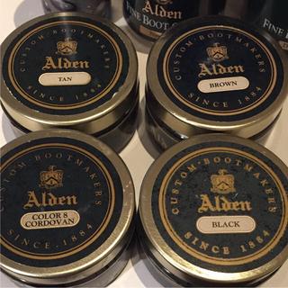 新品 Alden 純正 シューズケア用品各種 オールデン
