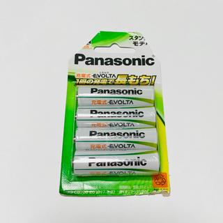 パナソニック(Panasonic)のパナソニック 充電式エボルタ 単3形充電池 4本パック スタンダードモデル(その他)