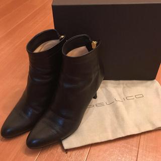 ペリーコ(PELLICO)の美品 ペリーコ 定番 バックジップショートブーツ ファビオルスコーニ(ブーツ)