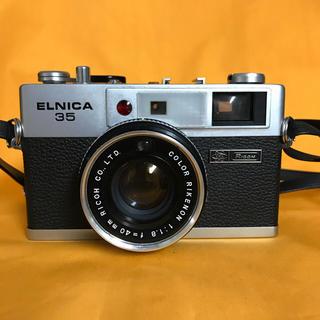 リコー(RICOH)の【外観美品】リコー フィルムカメラ ELNICA 35 早い者勝ち‼︎(フィルムカメラ)