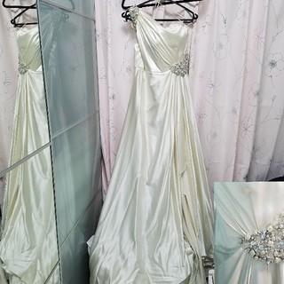 ヴェラウォン(Vera Wang)のジェニーパッカム ウェディングドレス シルク ビジュー(ウェディングドレス)