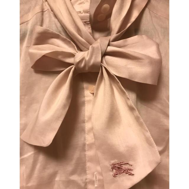 BURBERRY BLUE LABEL(バーバリーブルーレーベル)の【ゆか様専用】半袖 ピンク シャツ レディースのトップス(シャツ/ブラウス(半袖/袖なし))の商品写真