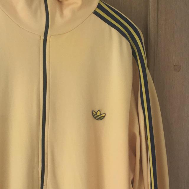 adidas(アディダス)のadidas ヴィンテージジャージ イエロー メンズのトップス(ジャージ)の商品写真