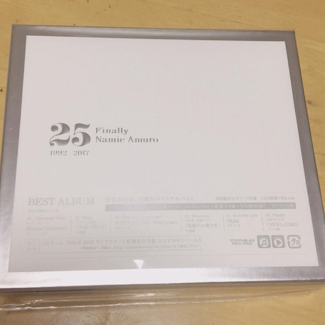 ♪安室奈美恵 3CD+DVD 初回盤スリーブ仕様♪ エンタメ/ホビーのDVD/ブルーレイ(ミュージック)の商品写真