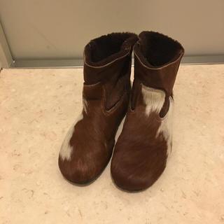 ケービーエフ(KBF)のKBF購入 ハラコ ショートブーツ(ブーツ)