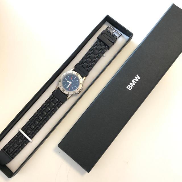 BMW(ビーエムダブリュー)の【新品、未使用】BMWの非売品の腕時計 メンズの時計(腕時計(アナログ))の商品写真