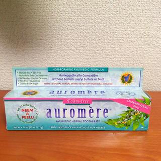 オーロメア(auromere)のAuromere  ハミガキ粉(歯磨き粉)