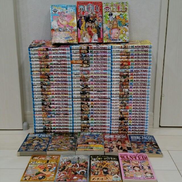送料無料 非売品付 ワンピース 全巻セット ONE PIECE 1-87巻+9冊 エンタメ/ホビーの漫画(全巻セット)の商品写真
