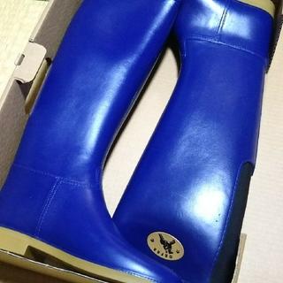 ダフナブーツ(Dafna Boots)のWINNER FLEX レインブーツBLUE 37(レインブーツ/長靴)
