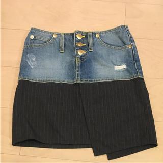 ダブルスタンダードクロージング(DOUBLE STANDARD CLOTHING)のDOUBLE STANDARD CLOTHING デニムスカート(ミニスカート)