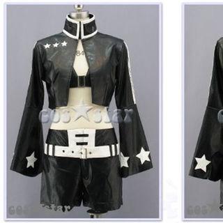 ブラックロックシューターブラックゴールドソーBlackGoldSaw黒衣マト衣装(その他)