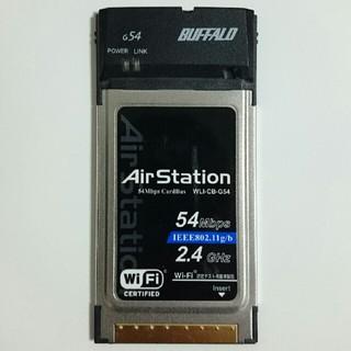バッファロー(Buffalo)の無線LANカード Buffalo WLI-CB-G54(PC周辺機器)