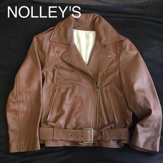 ノーリーズ(NOLLEY'S)の ★AIN様専用★【本革】羊革 レザーライダース(ライダースジャケット)
