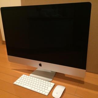 アップル(Apple)のApple iMac 5K late2015 かつ様専用(デスクトップ型PC)