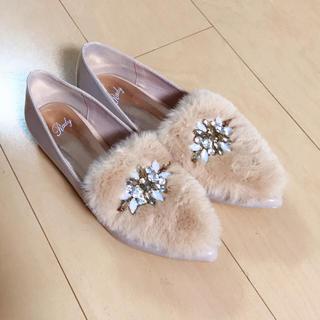 レディー(Rady)のRady♡ファーシューズ(ローファー/革靴)
