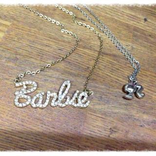 バービー(Barbie)のバービーキラキラネックレス(ネックレス)