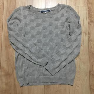 Lサイズ  ラメ入り長袖(ニット/セーター)