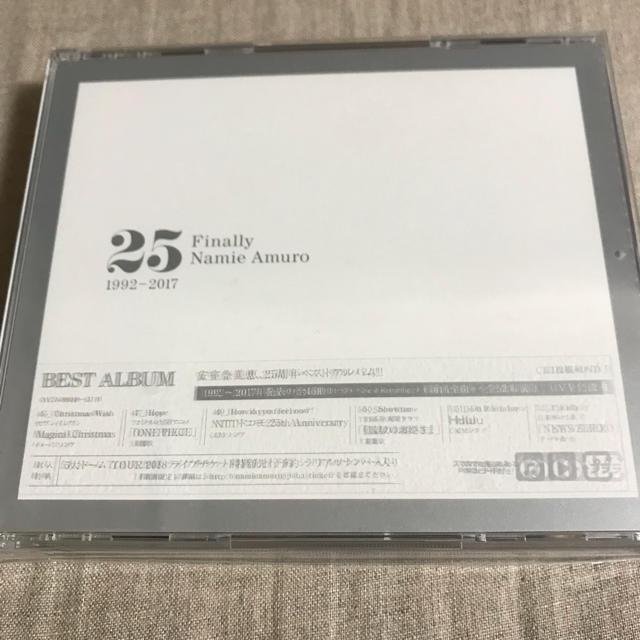 【新品同様】安室奈美恵 finally 通常盤 CD3枚+DVD+スマプラ エンタメ/ホビーのDVD/ブルーレイ(ミュージック)の商品写真