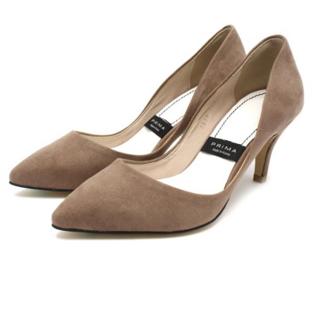 PLAIN CLOTHING(プレーンクロージング)の新品未使用 PLAIN CLOTHING ベージュ パンプス 25cm レディースの靴/シューズ(ハイヒール/パンプス)の商品写真
