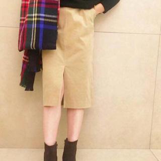 プラージュ(Plage)のビアンカラーニコールストレートスカート(ひざ丈スカート)
