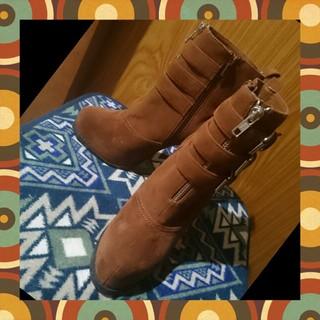 ウルラ(Ulula)のSexy&Cool✩スエード地ショートピンヒールブーツ M ヒール約13cm(ブーツ)