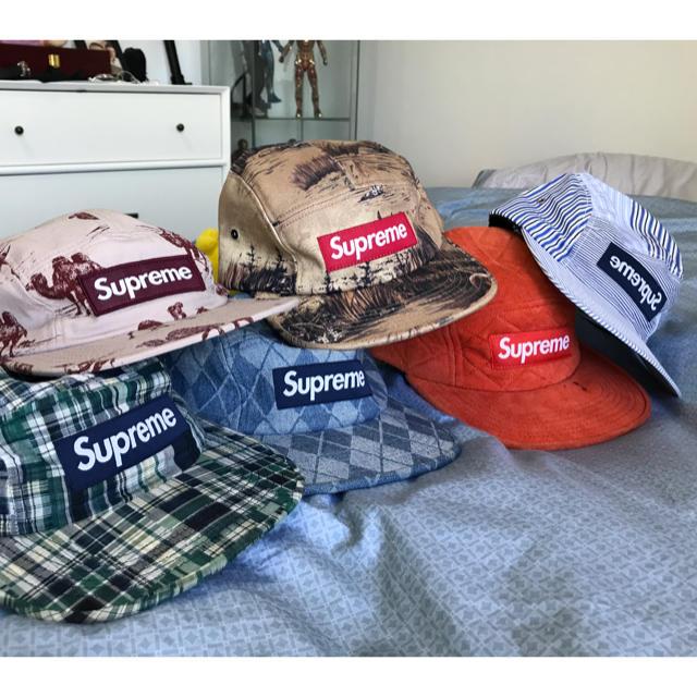 996d6c9154e Supreme - Supreme cap made in USAの通販 by yumm s shop|シュプリーム ...