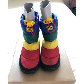 ジーティーホーキンス(G.T. HAWKINS)のキッズ スノーブーツ レインボーカラー(長靴/レインシューズ)