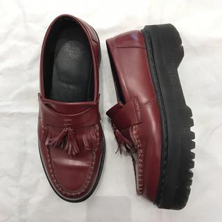 ドクターマーチン(Dr.Martens)のドクターマーチン厚底ローファー美品(ローファー/革靴)