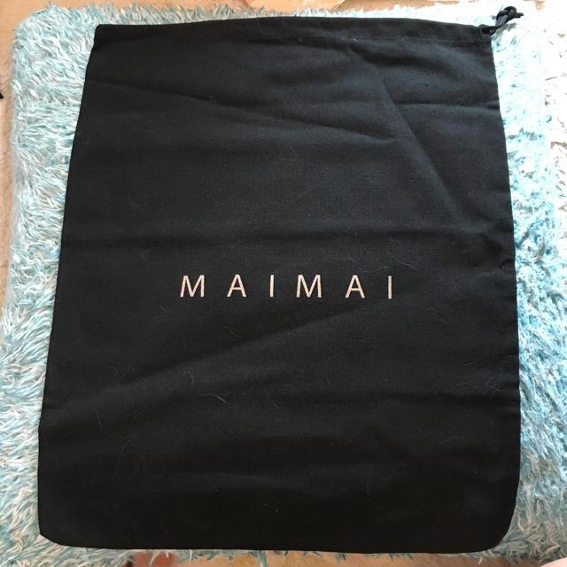 黒 巾着 レディースのファッション小物(ポーチ)の商品写真